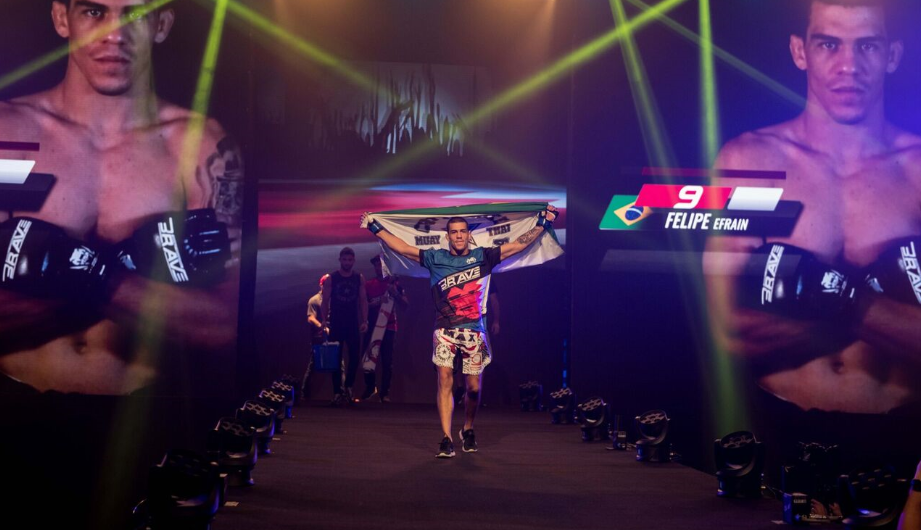 Chute Boxe's Felipe Efrain wants title shot after Brave 14