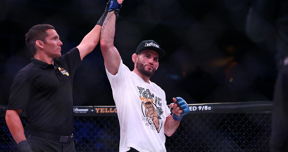 """Jon Fitch on Bellator Welterweight Tournament, Debut, Introducing Yellow Cards, """"Such Great Heights"""" Documentary and More!"""