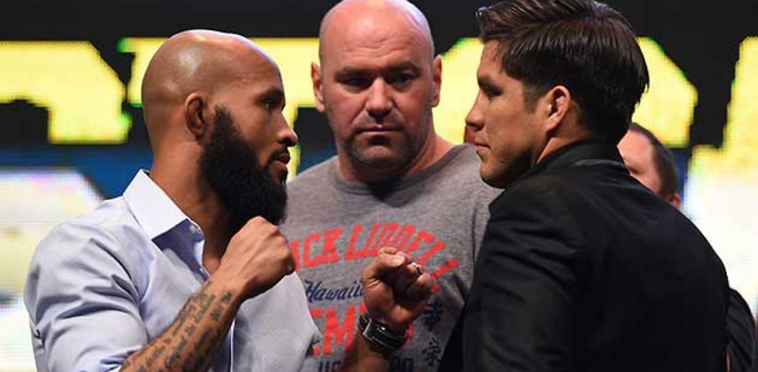 "Henry Cejudo on rematch with Demetrious Johnson:""We're here to dethrone the mouse"""