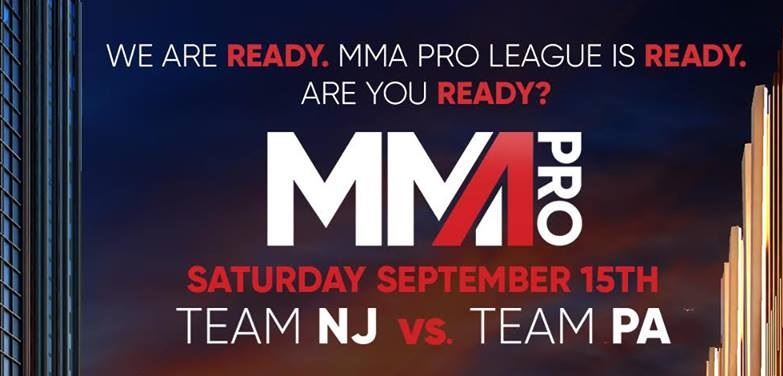 First Seven Matches Set for MMA Pro League Inaugural Event