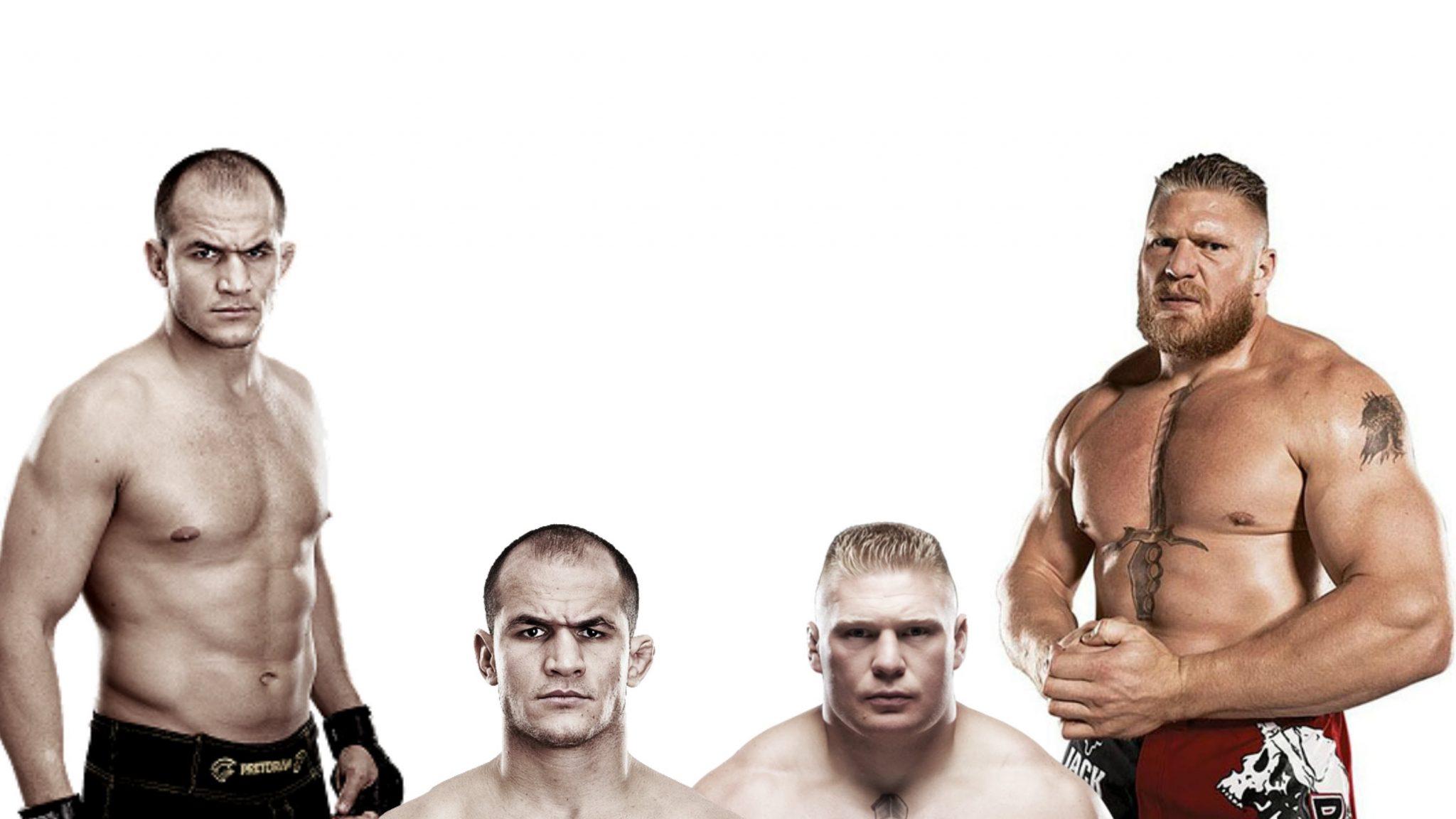 Brock Lesnar, Junior Dos Santos