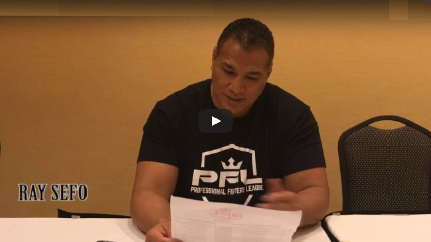 Ray Sefo previews Thursday night's PFL 5 fight card