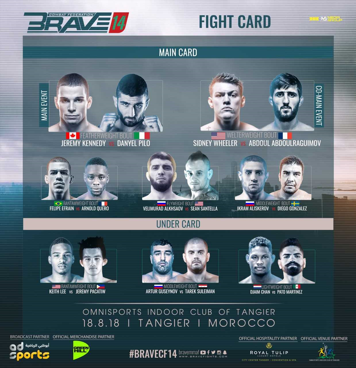 Brave 14 fight card
