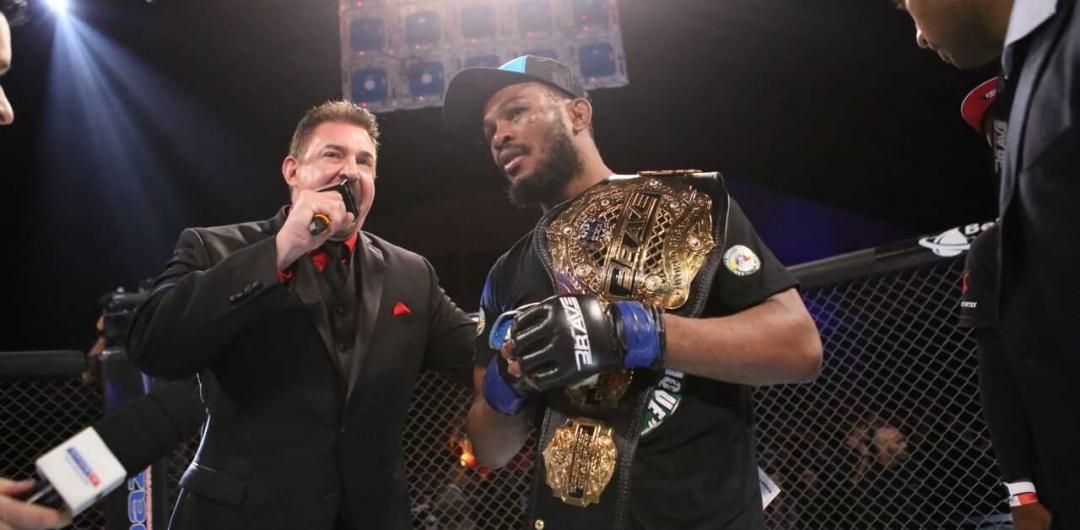 Champ Carlston Harris predicts Brave 14 fight, praises African MMA
