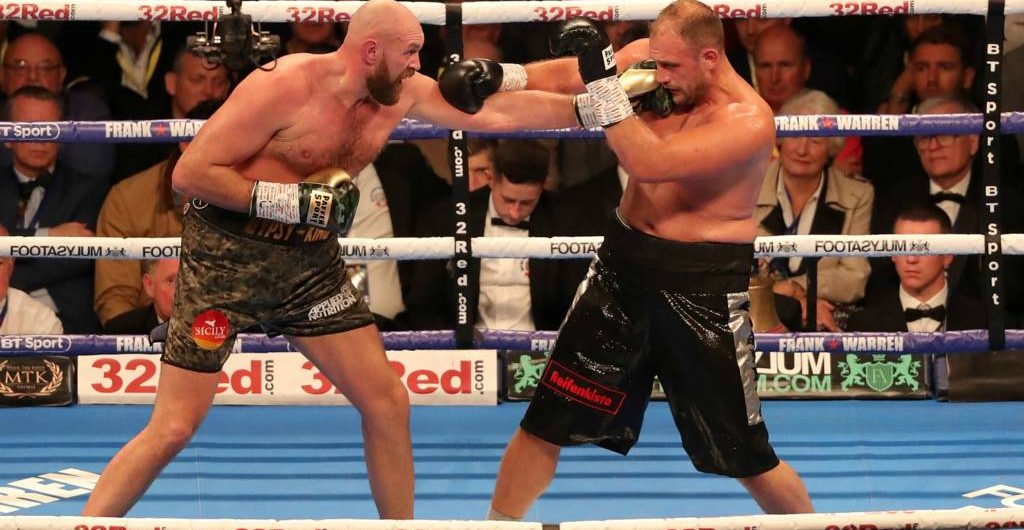 Tyson Fury notches dominant win in 2nd comeback fight – fight with Wilder announced