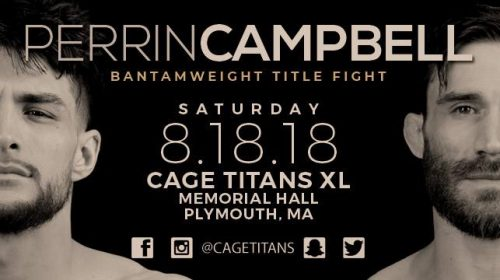 "Cage Titans 40 Results – Johnny ""Cupcakes"" Campbell vs. ""Savage"" Jason Perrin"