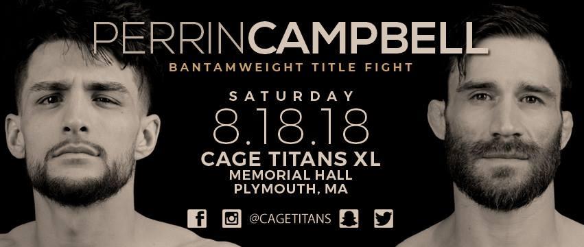 Cage Titans 40 Results