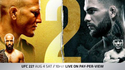 UFC 227 results – Dillashaw vs Garbrandt 2, Johnson vs Cejudo 2
