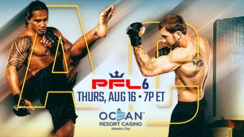 PFL 6 results from Oceans Resort Casino in Atlantic City