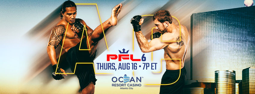 PFL 6 results from Oceans Resort Casino in Atlantic City