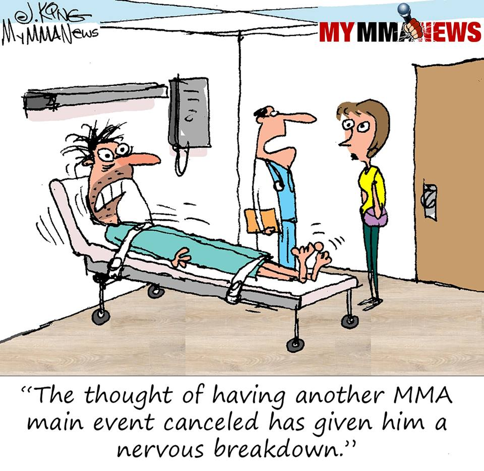 ufc canceled