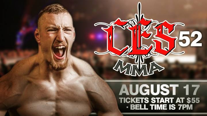 CES 52 from Philadelphia, live on AXS TV August 17th… preview with matchmaker Mike Bickings