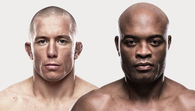 "GSP on possibility of super fight with Anderson Silva: ""Not right now"""