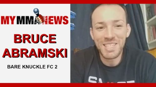 Bruce Abramski Plans To Shock The World Against Kendall Grove at Bare Knuckle FC 2