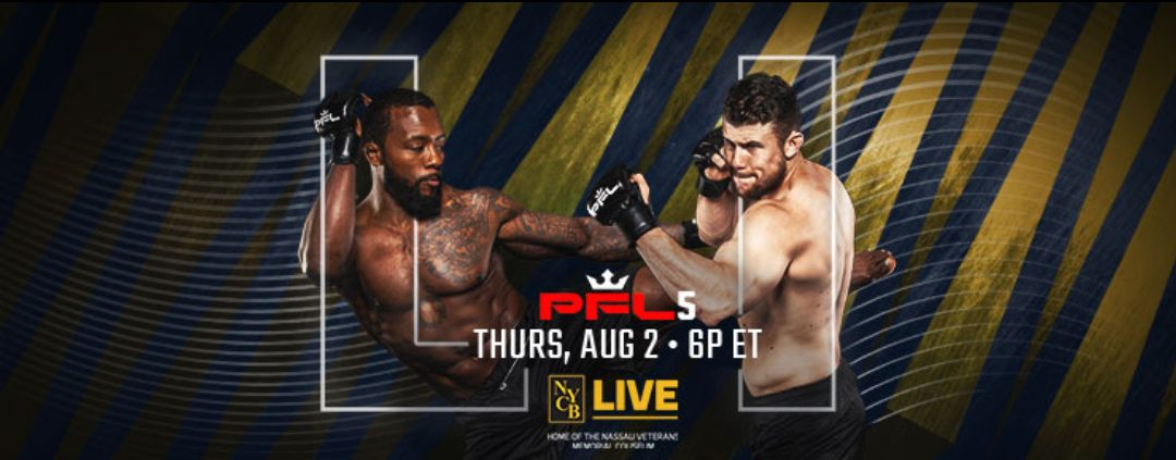 PFL 5 Live Results: Chris Wade Defends Home Turf