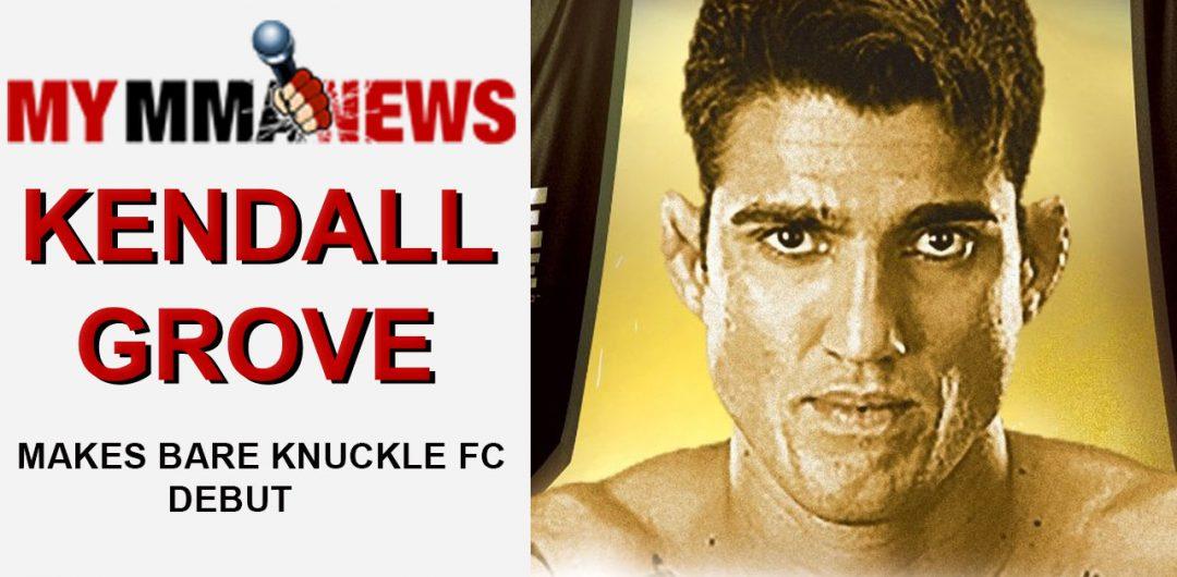 UFC Veteran Kendall Grove Talks Bare Knuckle FC Debut on Aug. 25 & TUF Gym Closing