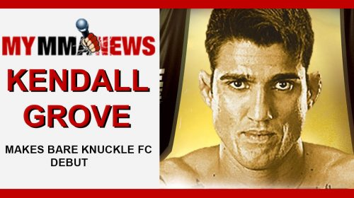 UFC Veteran Kendall Grove Talks Bare Knuckle FC Debut on Aug. 25 & TUF Gym Closing