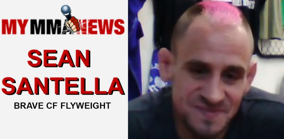 Sean Santella Talks Brave CF Debut Aug. 18 & Being Snubbed From The UFC