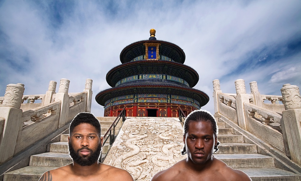 Curtis Blaydes vs. Francis Ngannou rematch headlines UFC's first-ever event in Beijing, China