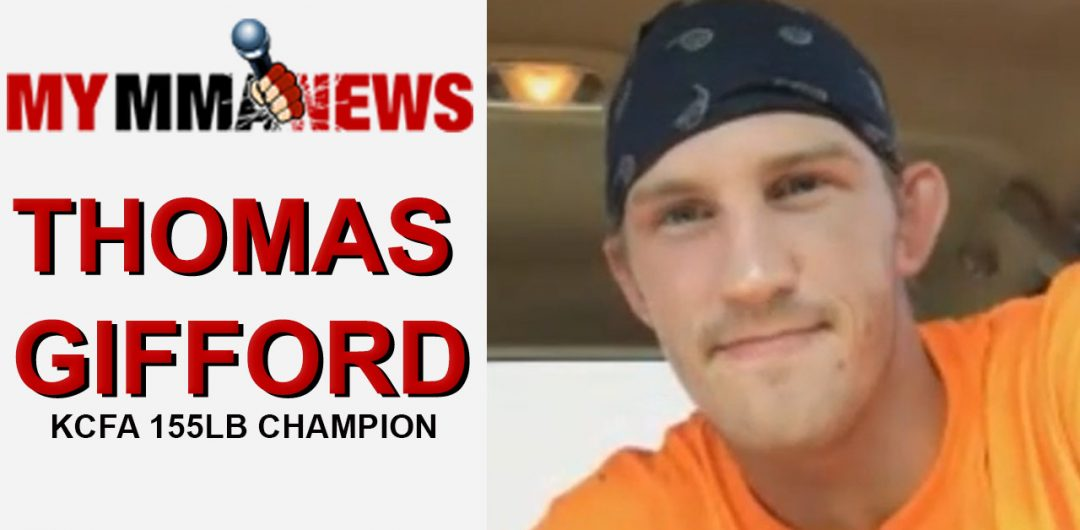 KCFA Lightweight Champ Thomas Gifford Recaps His Quick Win Over Trey Ogden In Their Rematch