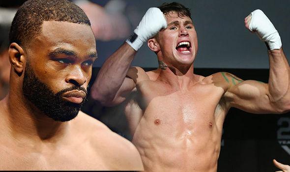 Tyron Woodley, Darren Till, UFC 228
