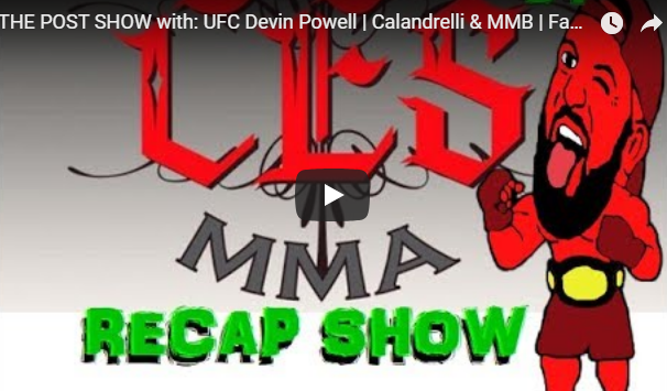 devin powell on pure evil mma