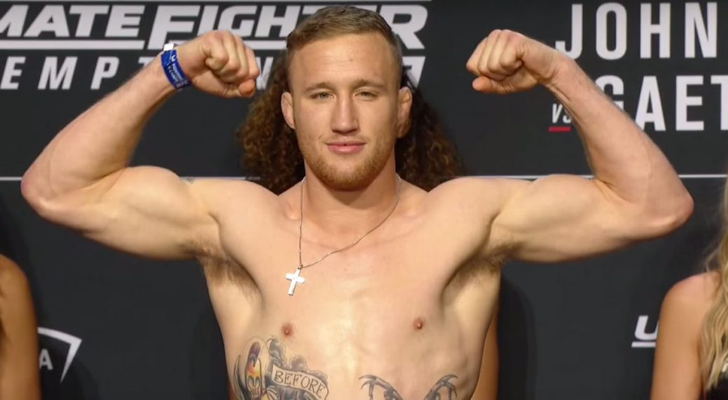 UFC Fight Night 135, Justin Gaethje