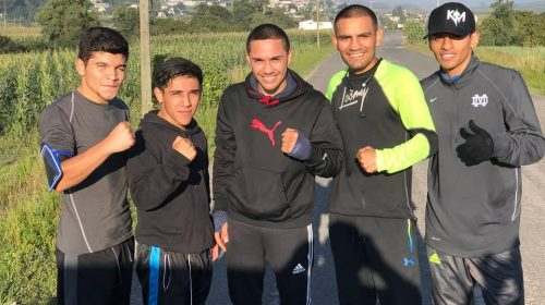 Iran Diaz enlists ex-champ Juan Francisco Estrada as training partner