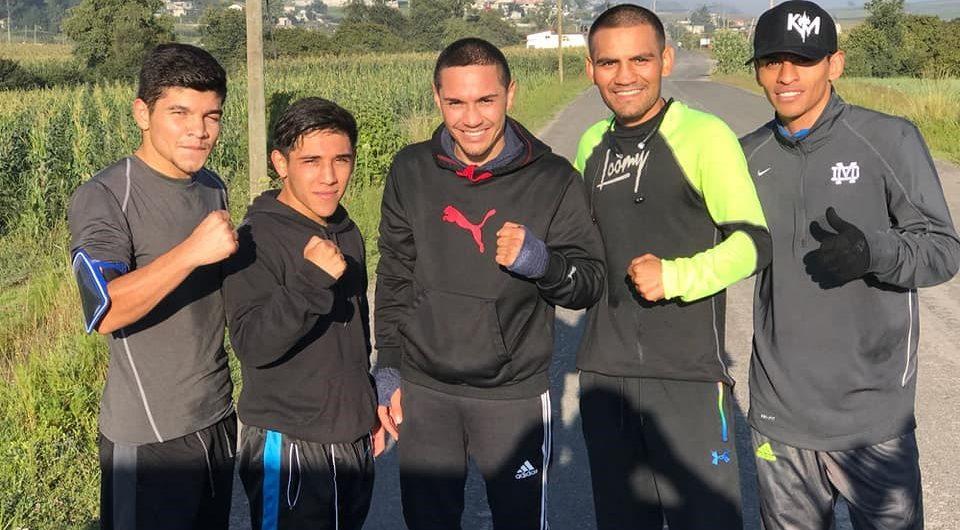 Iran Diaz enlists ex-champ Juan Francisco Estrada as training partner