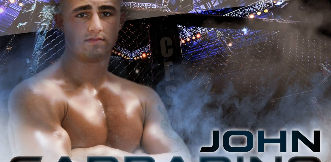 Culinary Expert John Garbarino to get taste of MMA competition in debut at CES 52
