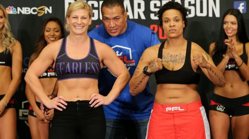 PFL 6 weigh-in results – Kayla Harrison returns