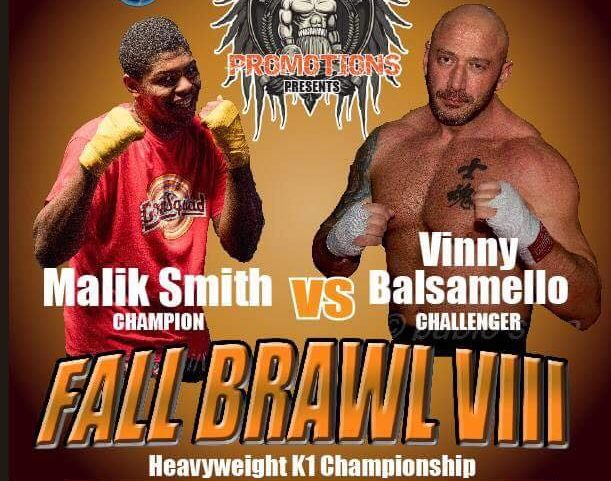 Malik Smith Title Defense Interview | Jack Hammer Promotions Fall Brawl 8