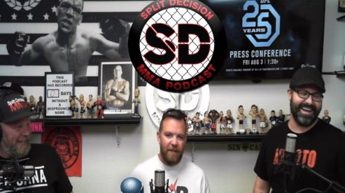 Nate Diaz returns, UFC 227, more on Split Decison MMA Podcast