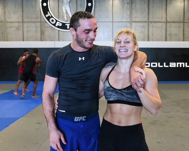 UFC fighter Tony Martin shares his thoughts on why girlfriend Kayla Harrison is the future of Women's MMA