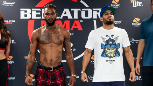Bellator 204 Darrion Caldwell vs. Noah Lahat Weigh-In Results