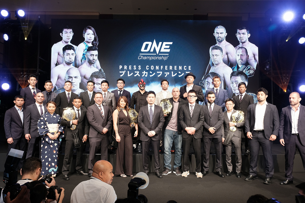 ONE Championship announces live event in Tokyo scheduled for March 2019