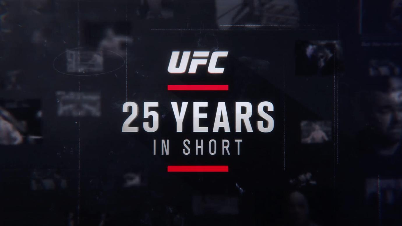 UFC 25th anniversary