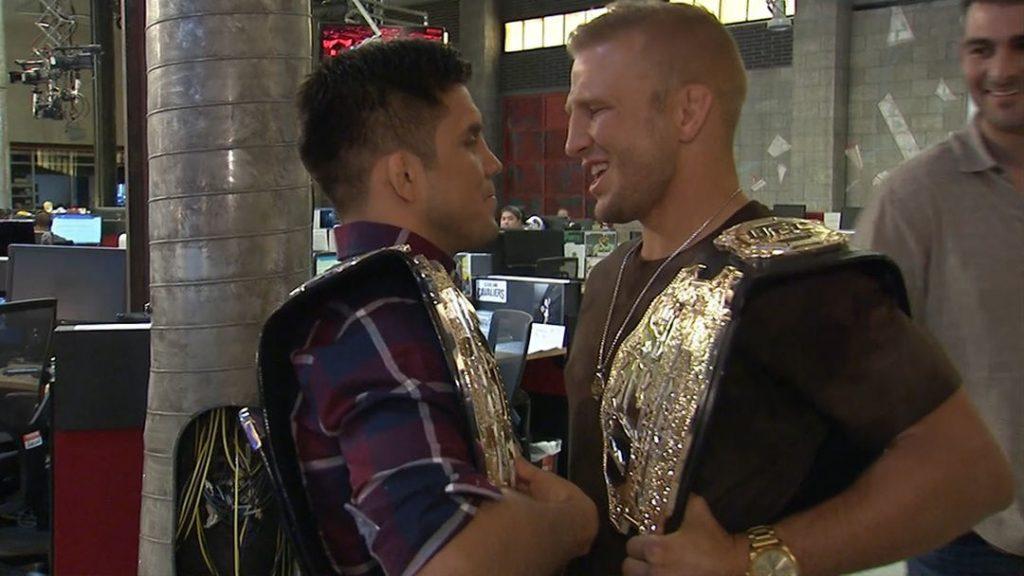 UFC Brooklyn, TJ Dillashaw, Henry Cejudo
