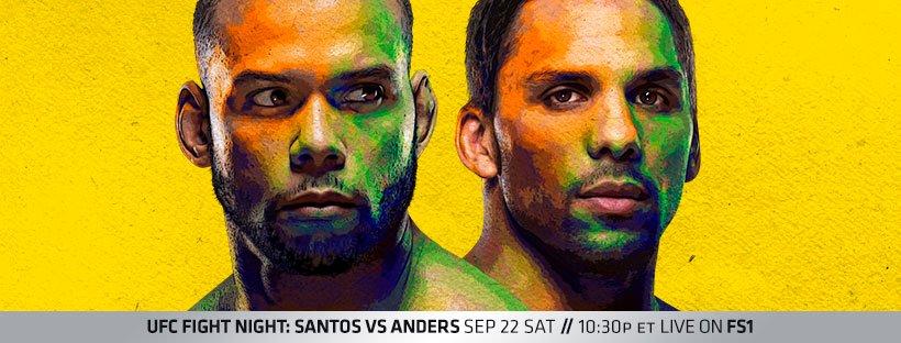 UFC Sao Paulo results