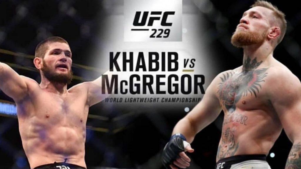 Khabib Nurmagomedov vs Conor McGregor, UFC 229