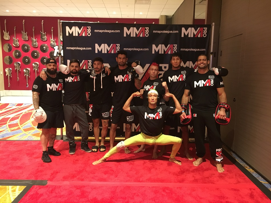 MMA Pro League, Team Pennsylvania