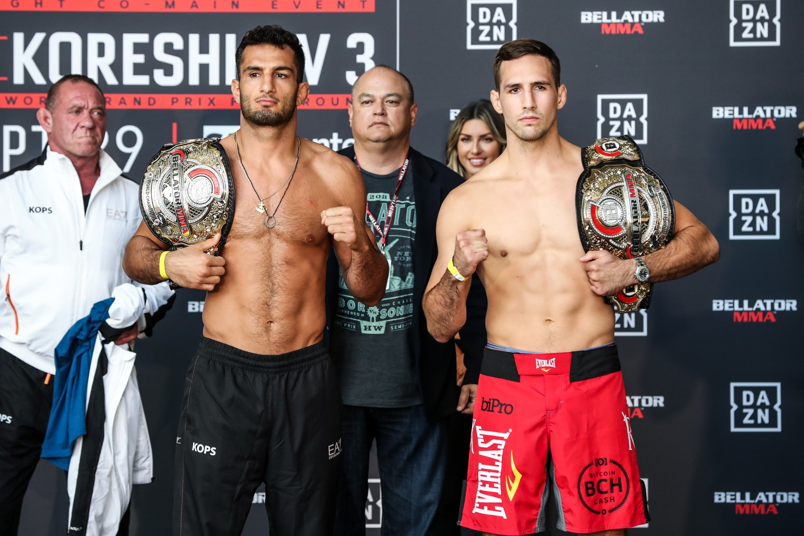 ellator 206: Mousasi vs. MacDonald Weigh-In Results & Photos
