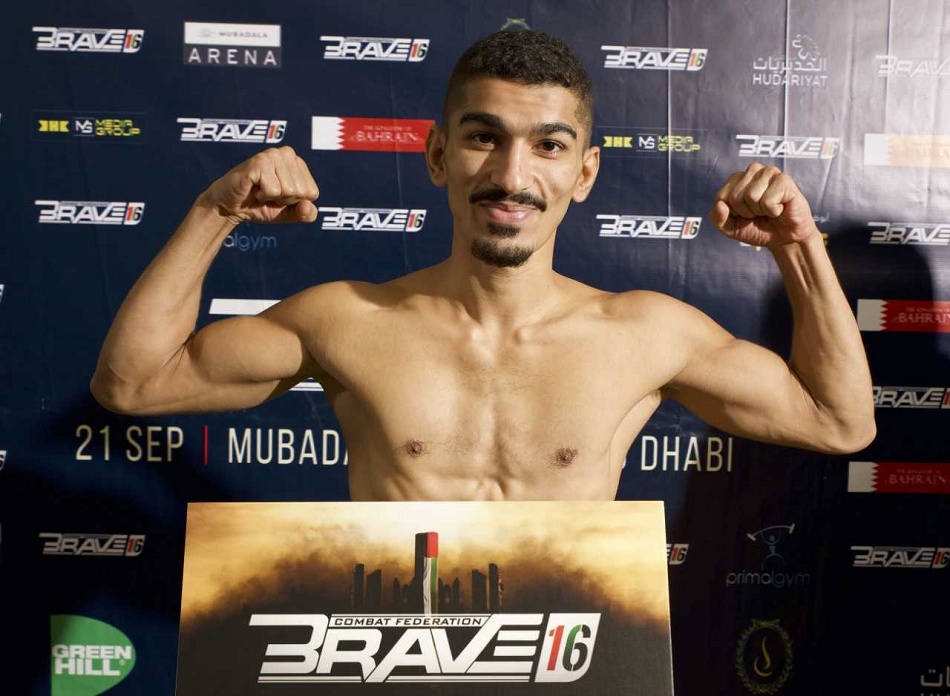 Brave 16 weigh-in results