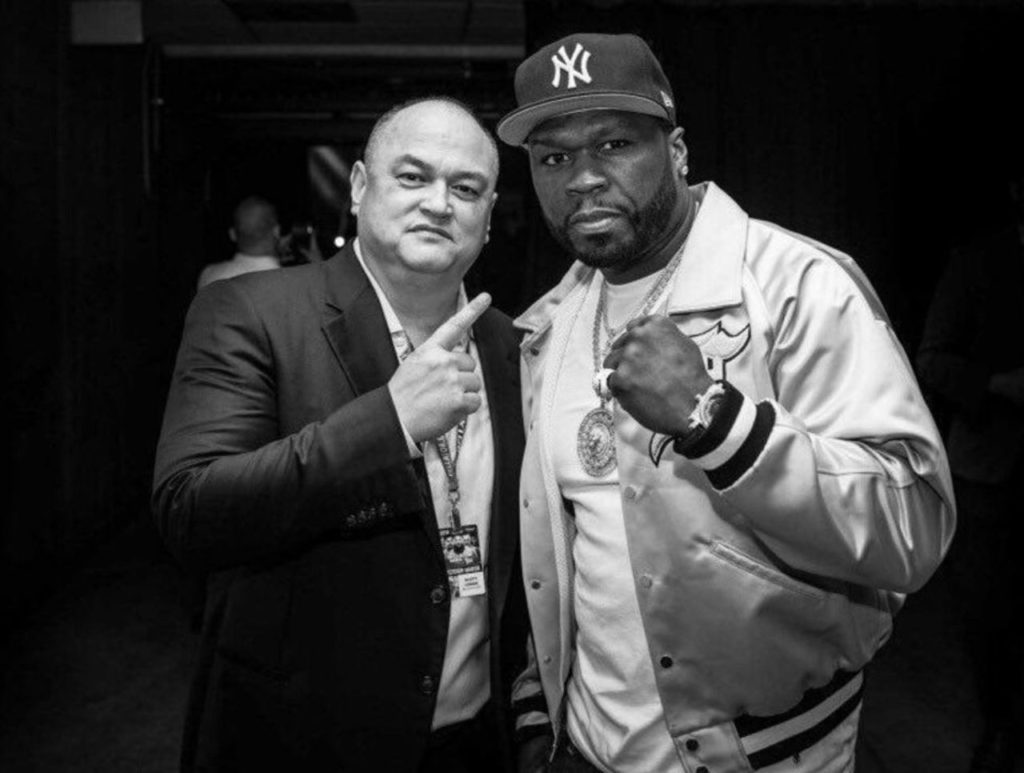 50 Cent, Scott Coker, Bellator
