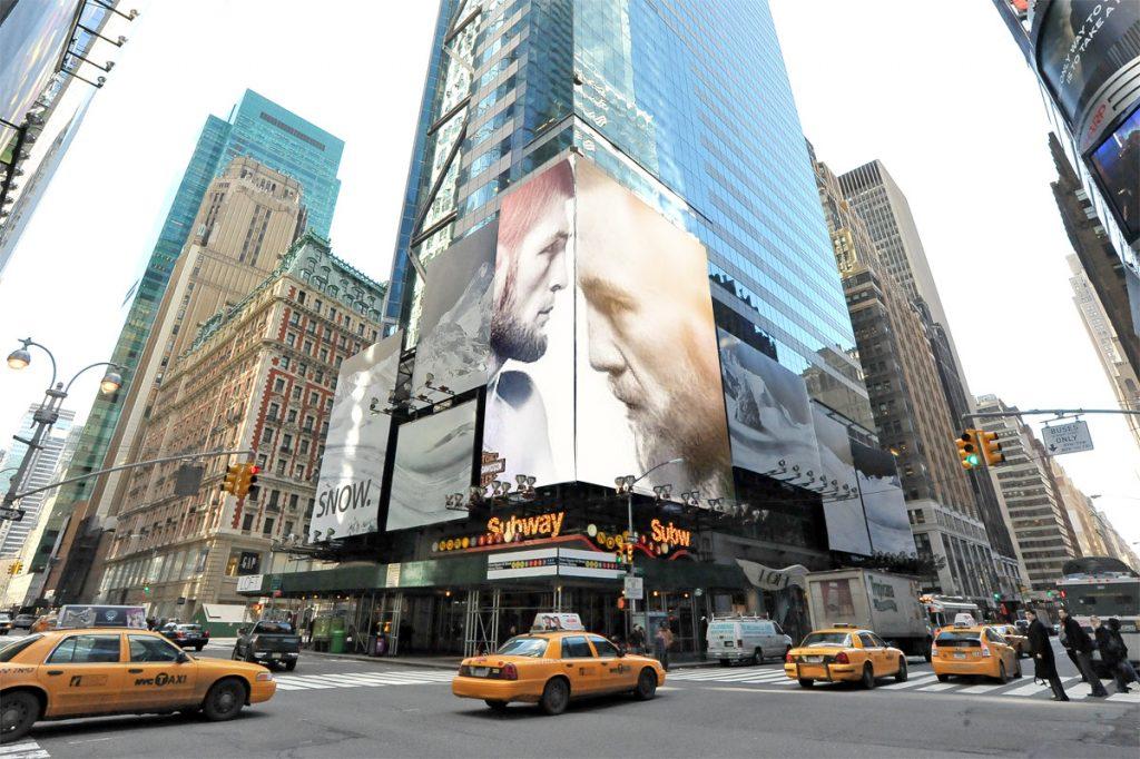 Mega-Zilla, UFC 229, Times Square