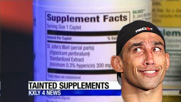 tainted supplement, Fabricio Werdum