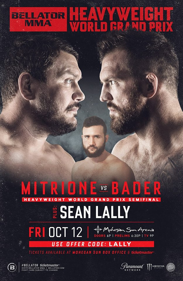 Sean Lally, Bellator 207