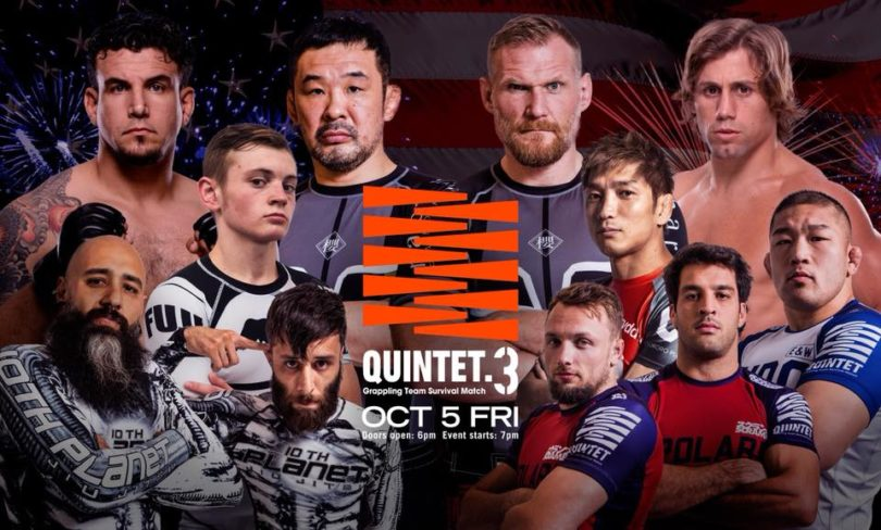 Quintet 3 Results - Team Sakuraba vs. Team Faber