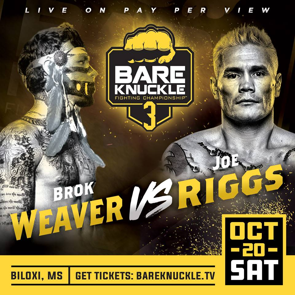 Joe Riggs training camp quotes ahead of Bare Knuckle Fighting Championship 3