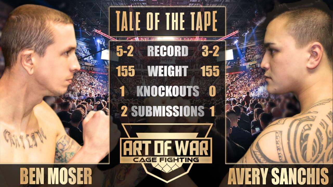 art of war 9, ben moser vs avery sanchis